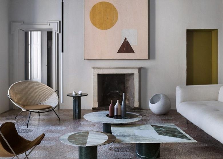 Casa Salvatori In Milan Brings Together Marble Furnishings