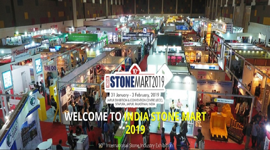 10th India StoneMart 2019 opens its gates today in Jaipur